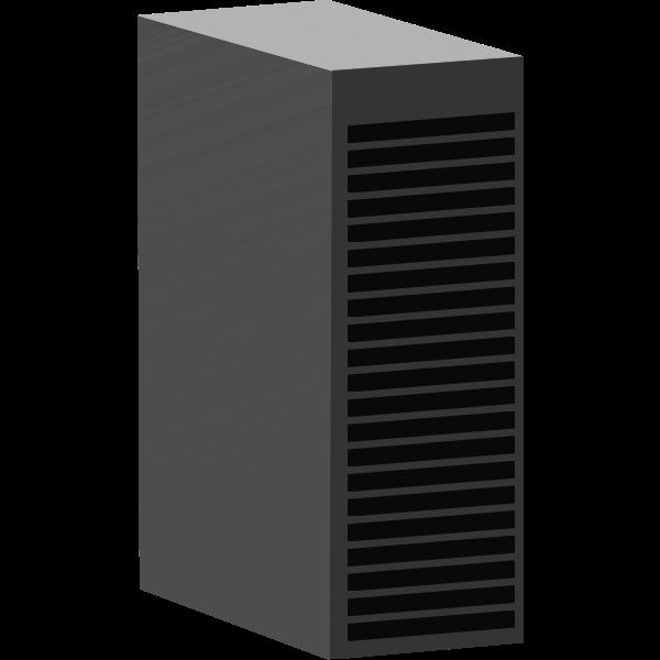 Vector image of racks