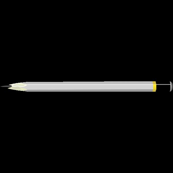 Image of grey handle pencil