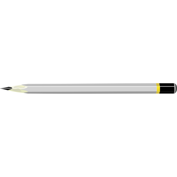 Image of grey handle pencil