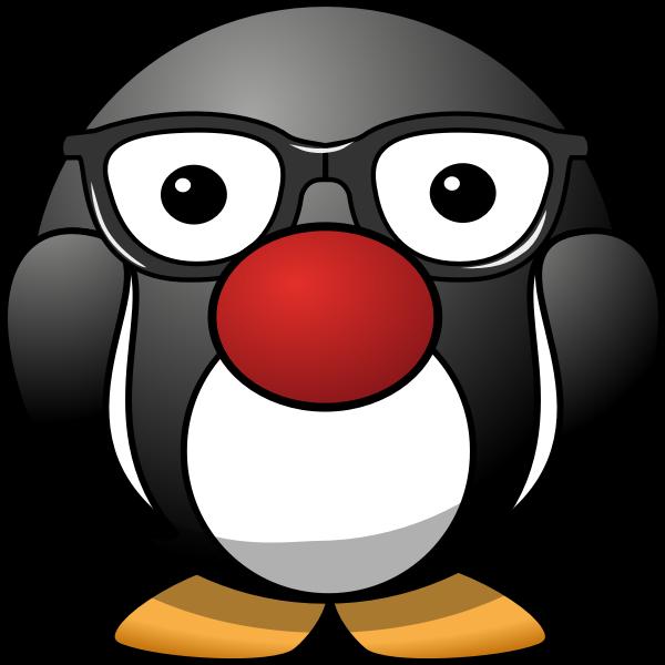 Chunky Penguin mascot vector iMage