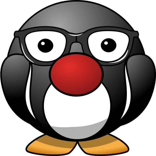 Chunky Penguin mascot vector iMage