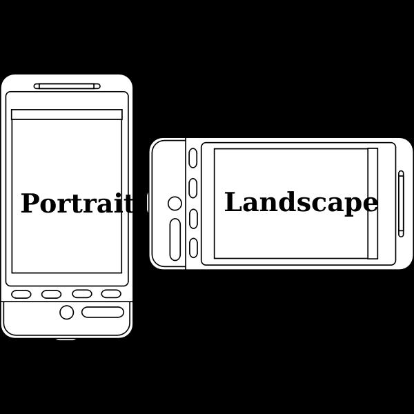 Portrait v Landscape Device Orientation