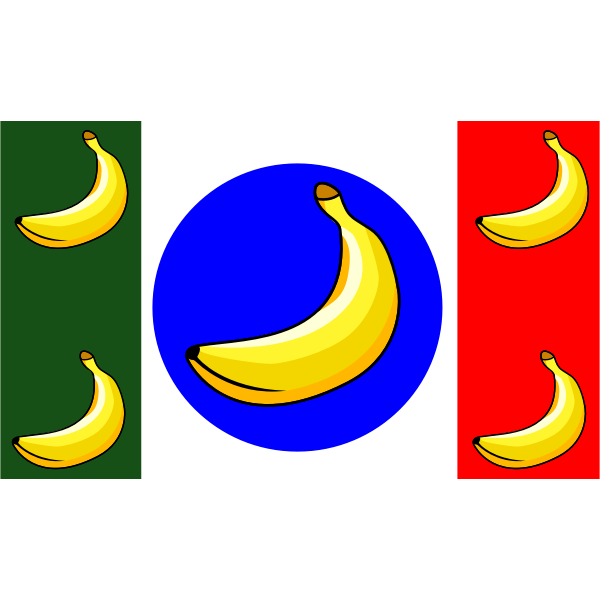 picapica remix Anonymous Banana Republic Flag