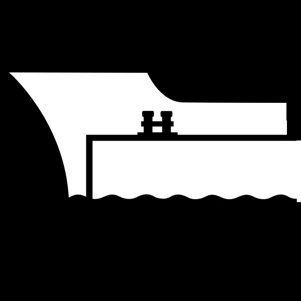 Ship in a pier
