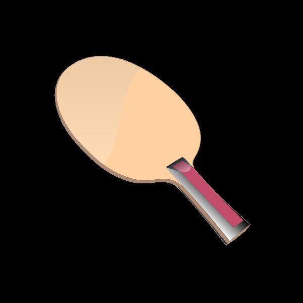 A table tennis racket vector clip rt