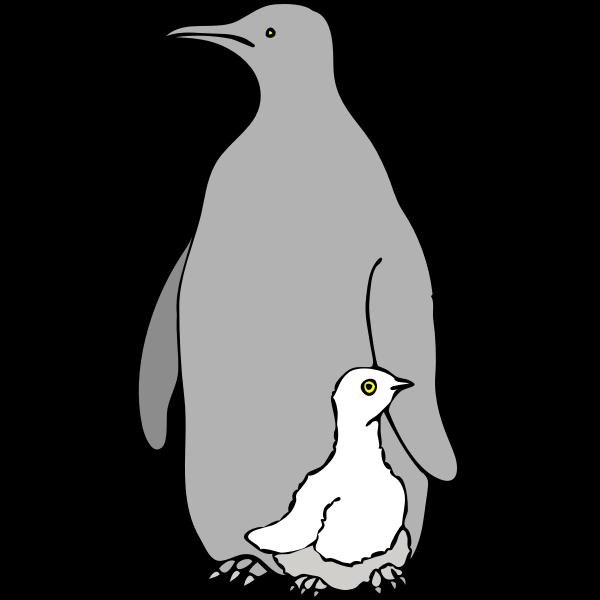 Architetto -- pinguino col piccolo