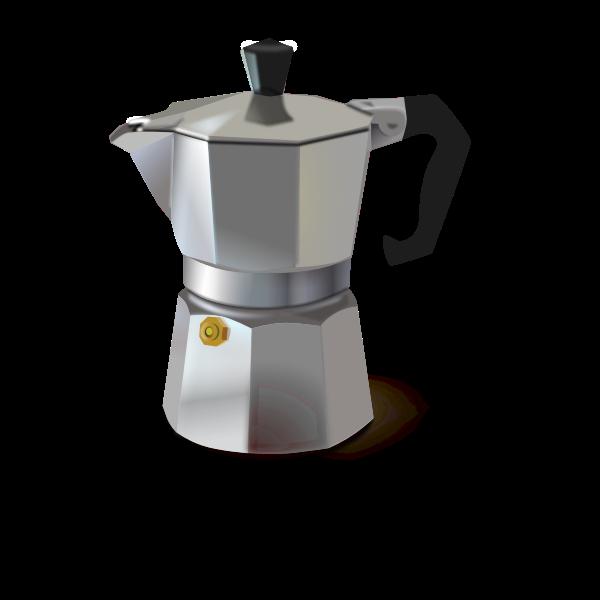 Coffee machine vector graphics
