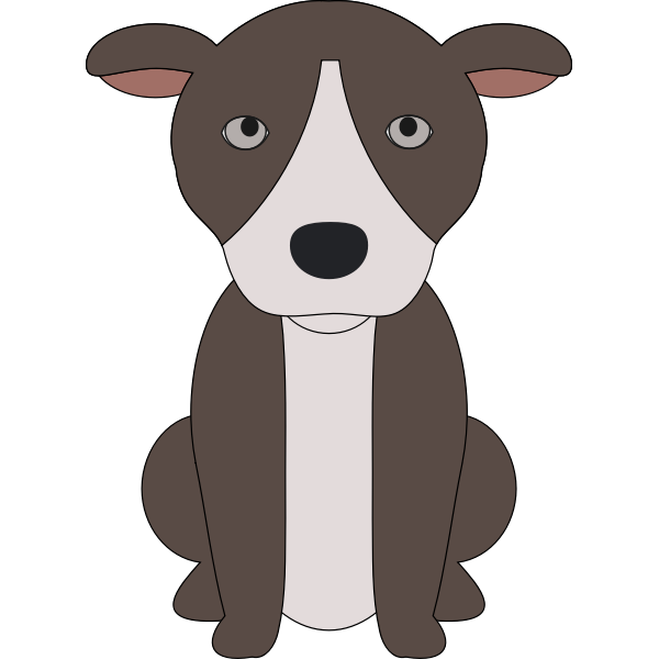 A puppy of a pit bull