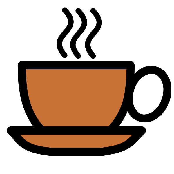 Vector coffee cup icon