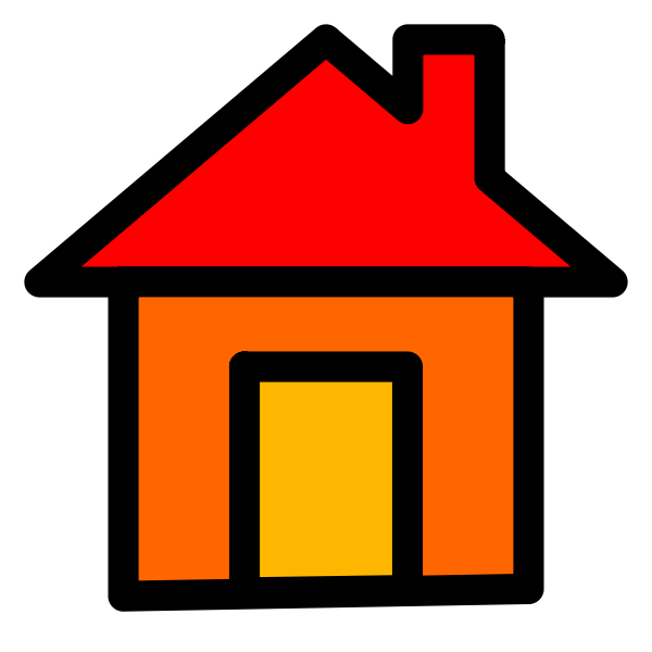 Home icon vector graphics