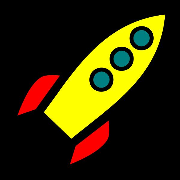 Rocket icon vector graphics