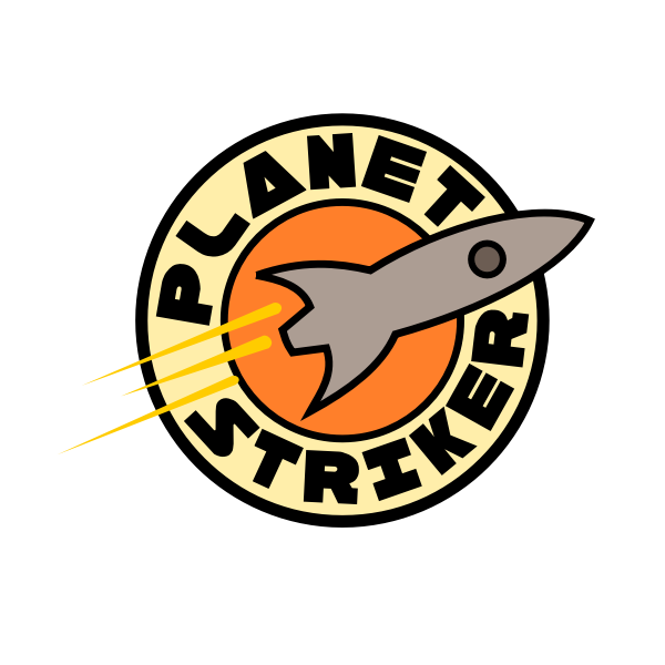 ''Planet Striker'' Logo