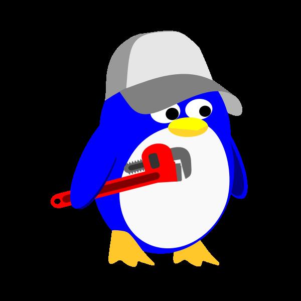 Penguin handyman