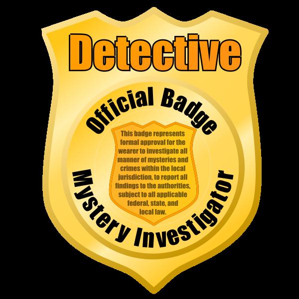 police detective badge remix monsterbraingames