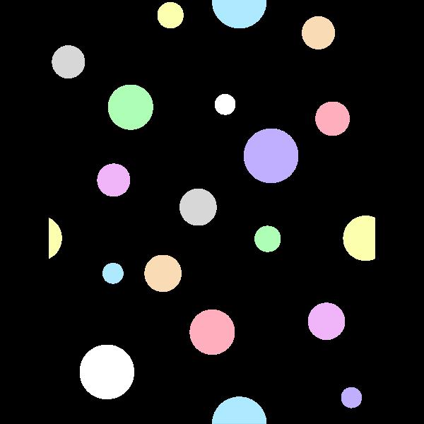 Pastel dots