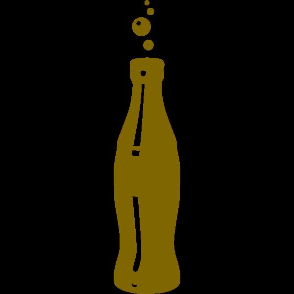 Bottle silhouette remix image