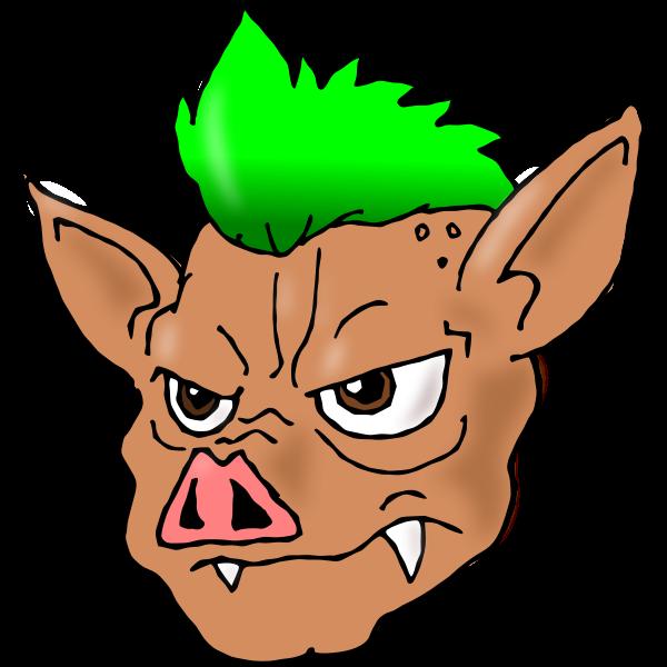 Porco Green Vector
