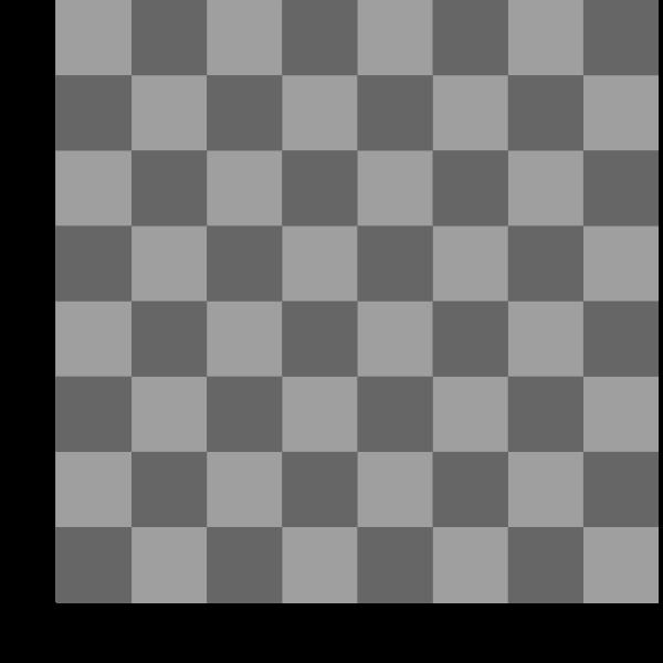 2D Chess set - Chessboard 3