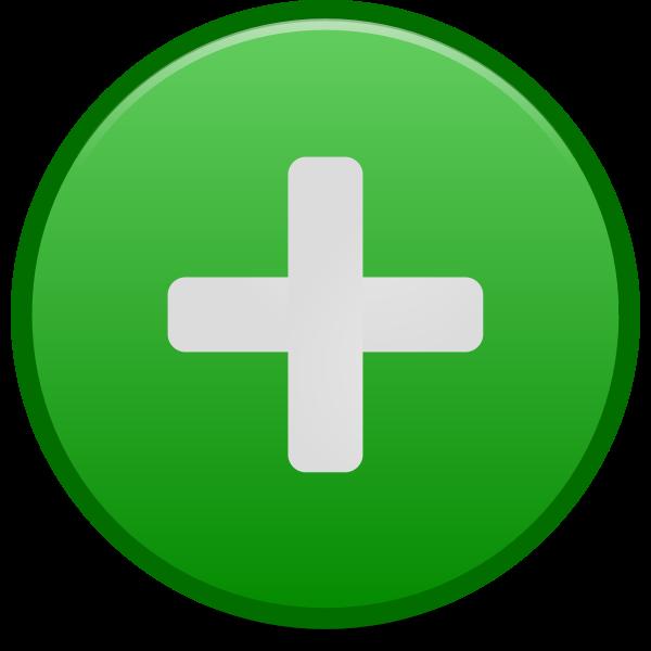Positive emblem icon