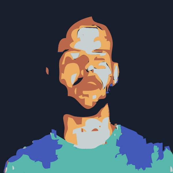 post 3d scan head avatar