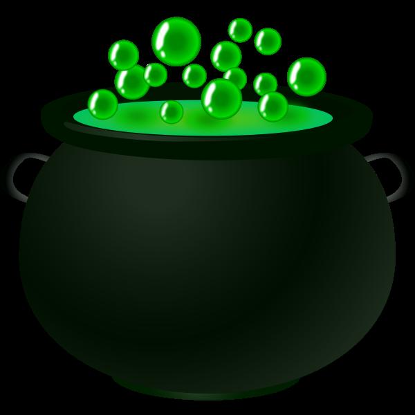 Bubbling potion