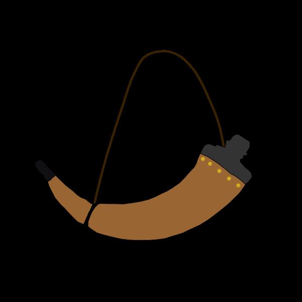 Brown horn