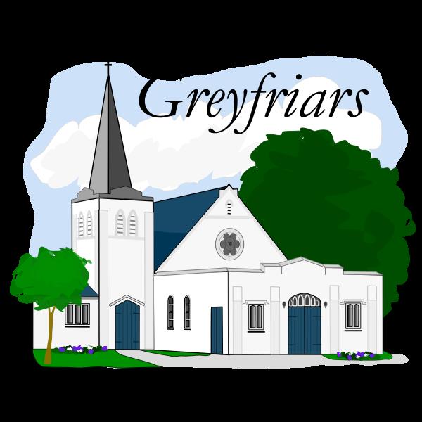 Vector graphics of Greyfriars Presbyterian Church