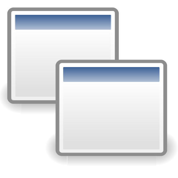Two windows icon