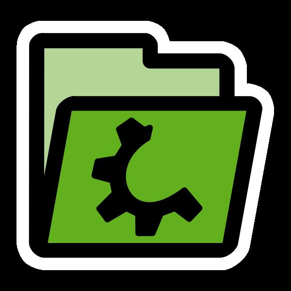 primary folder green