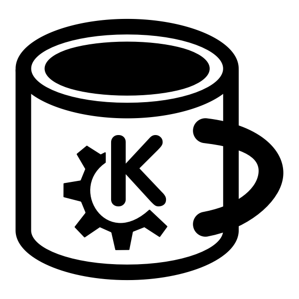 Vector clip art of coffee mug pictogram
