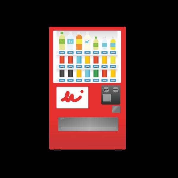 Drink vending machine image