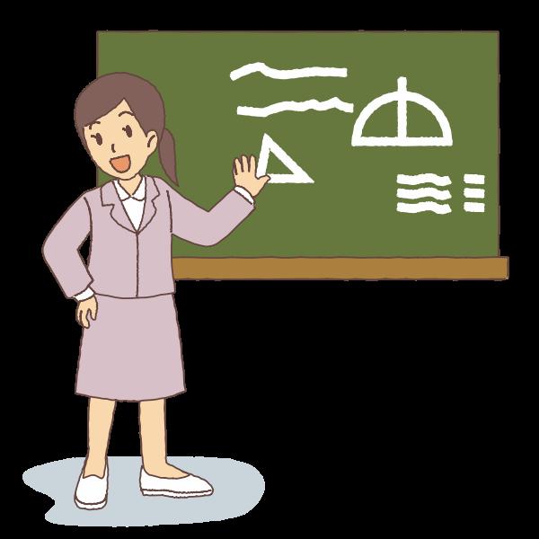 Female teacher image