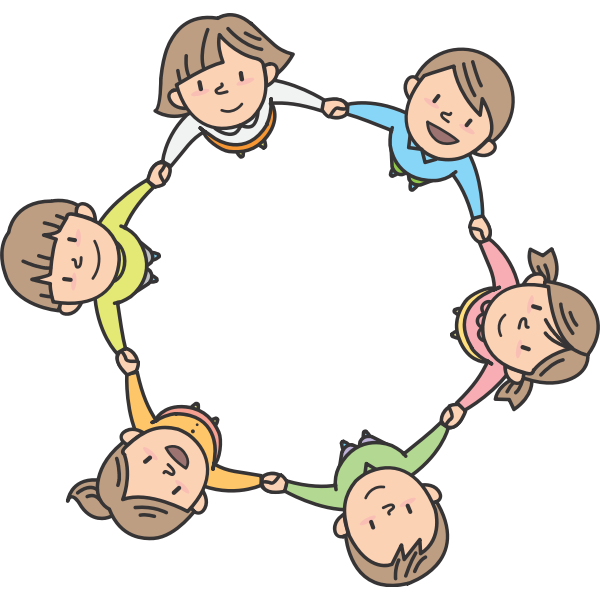 Children in circle