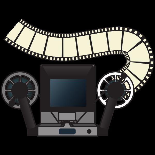 Analog film editing machine