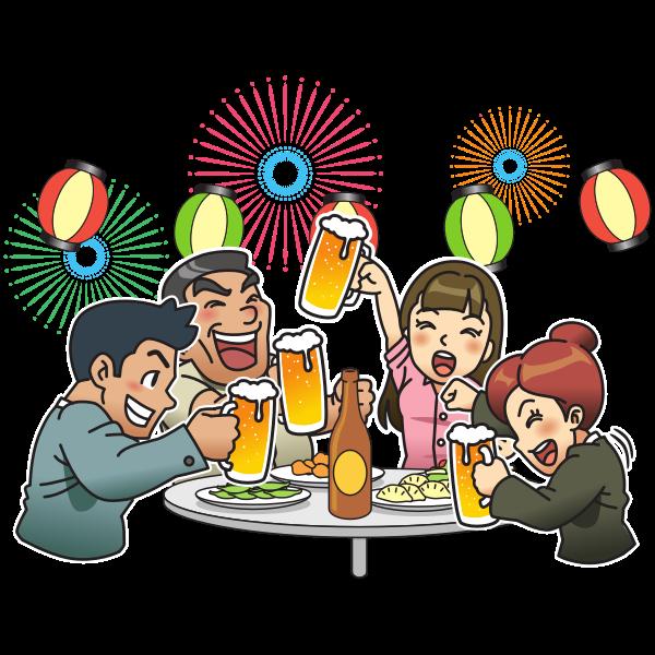Beer garden / party