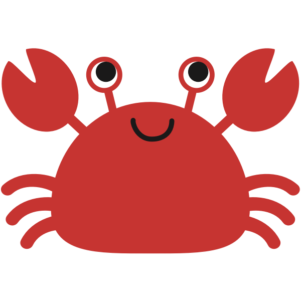 Crab cartoon