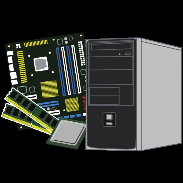 Desktop computer parts