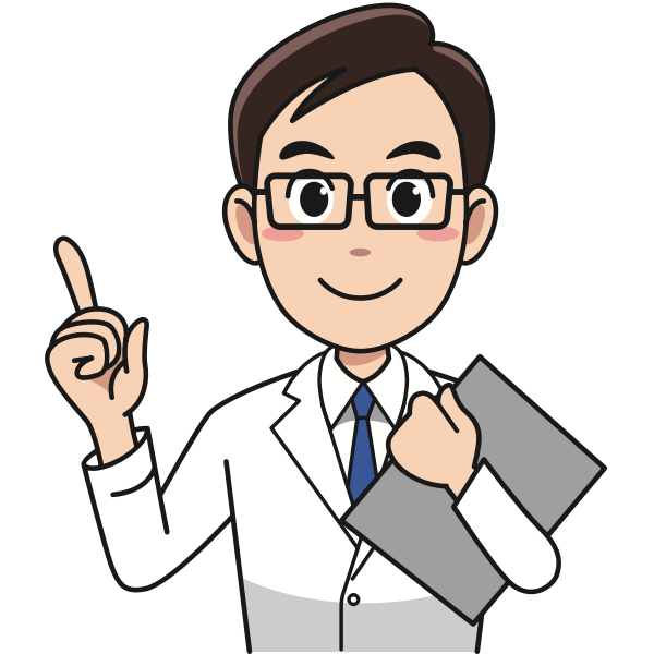 Doctor with eyeglasses