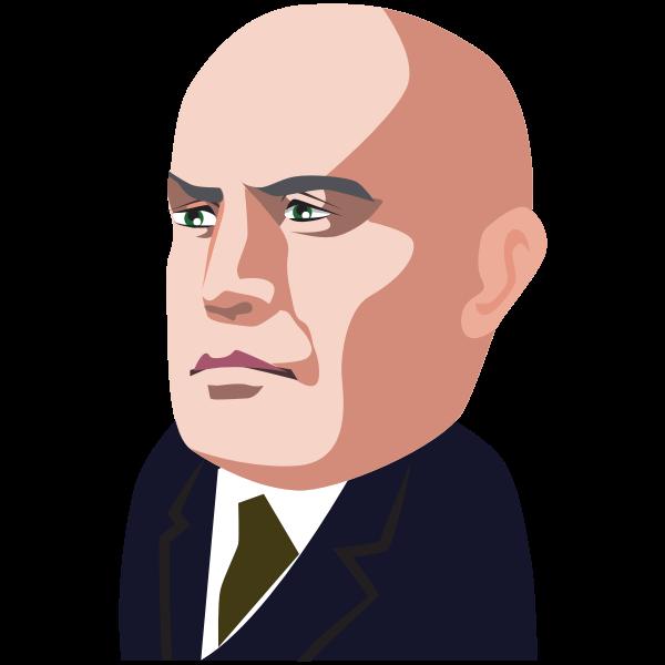 polititian - Benito Mussolini