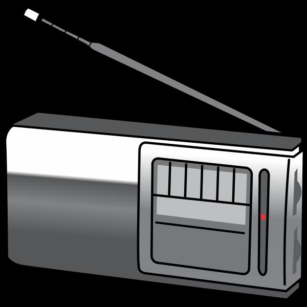 Simple portable radio