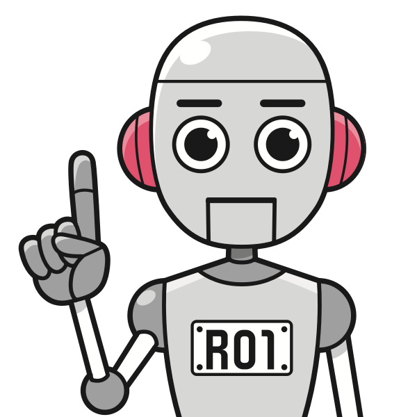 Outlined robot image