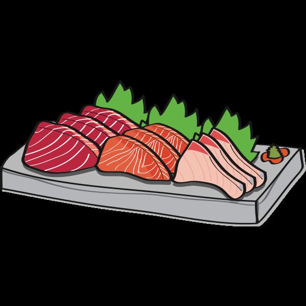 Three fish meals