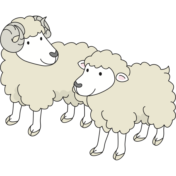 Cartoon sheep-1574419041