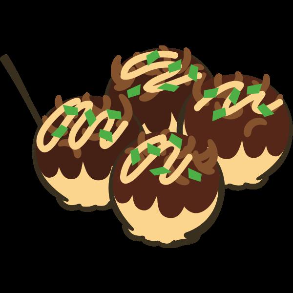 Takoyaki meal