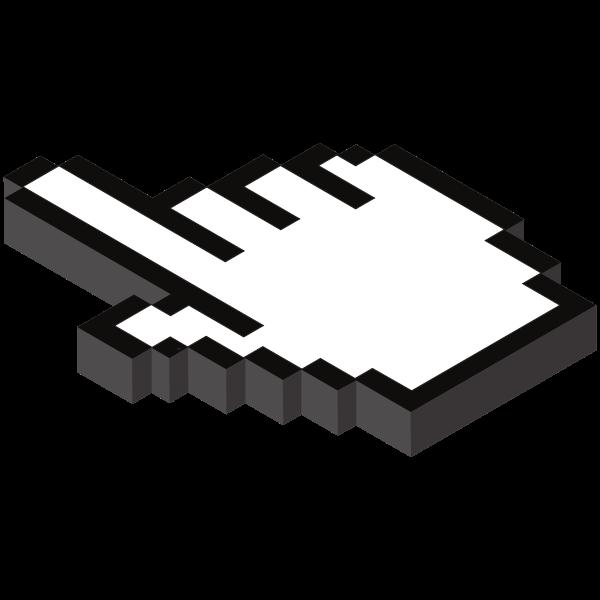 Hand cursor image