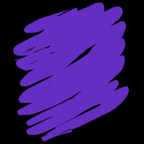 Purple scribble