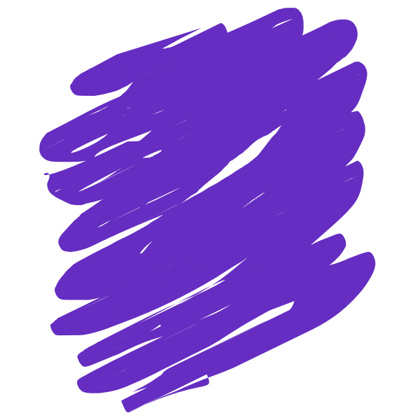 Purple scribble