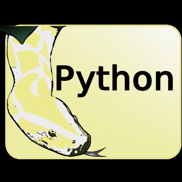 Python vector image