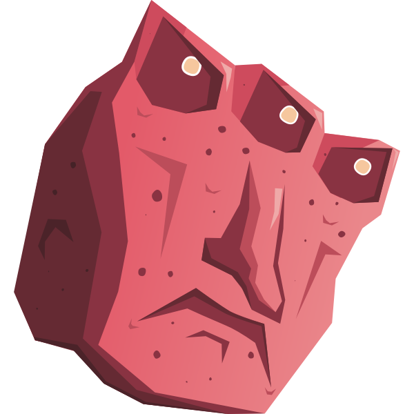 Three-eyed monster