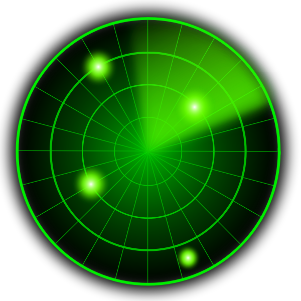 Radar vector graphics